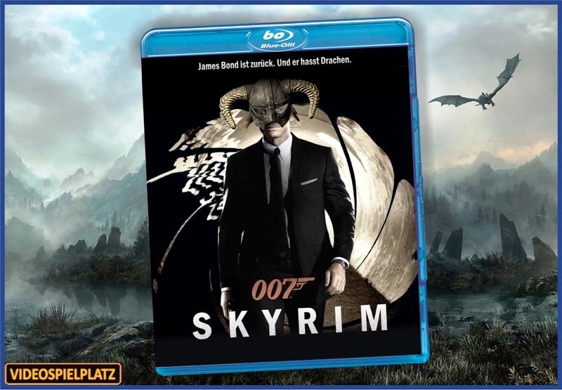 Bluray - JamesBond - Skyrim