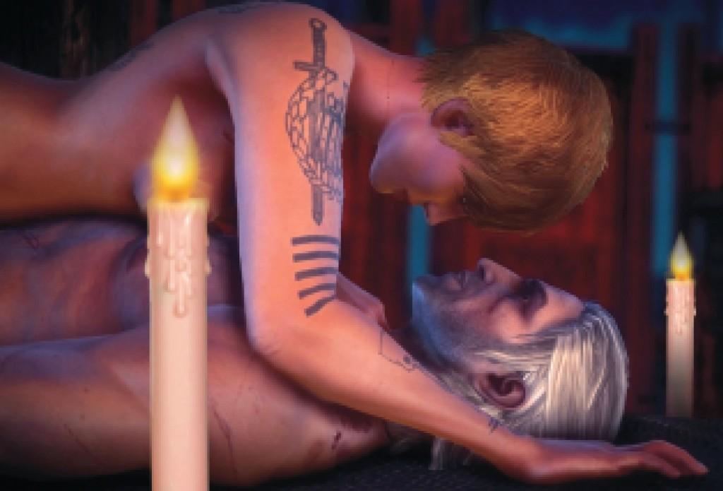 Zensur - Witcher 2 Sex
