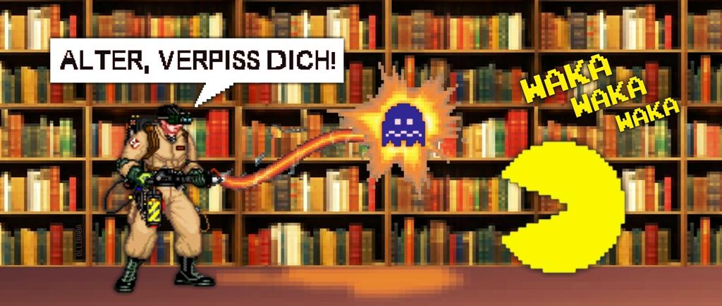 Ghostbusters VS Pacman NEU