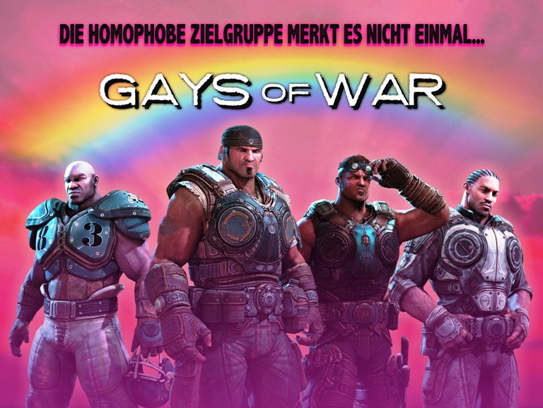 voll GAY - Macho - gays of war