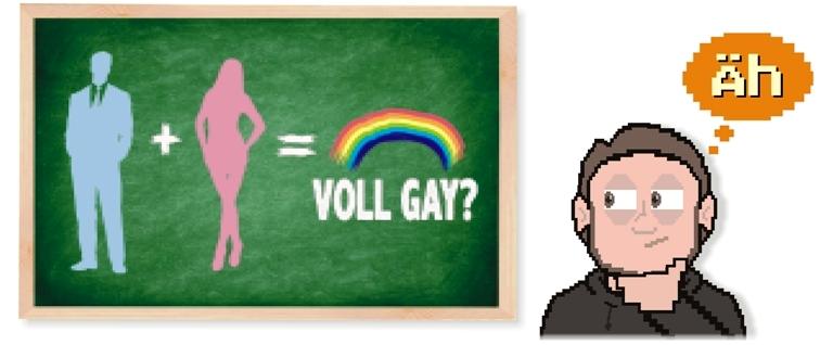 voll GAY -tafel