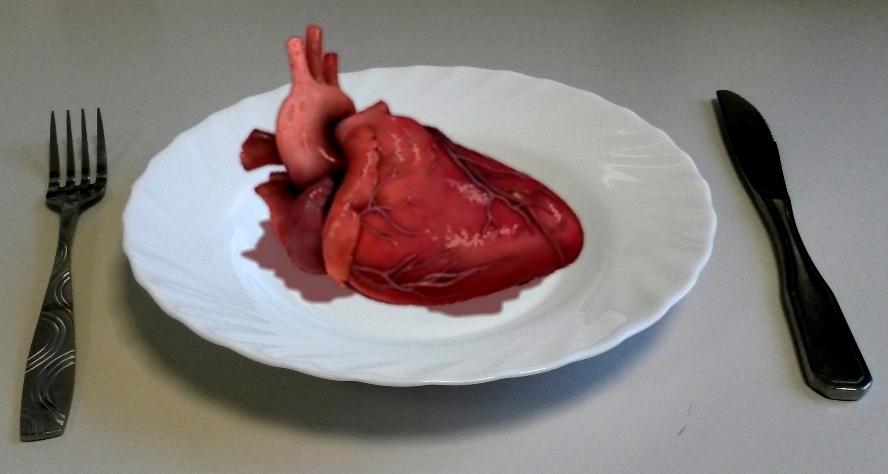 Realitätscheck - Herz zum Essen
