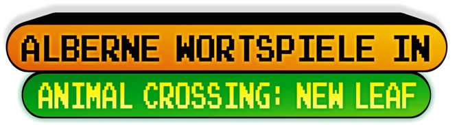 Top Ten - AnimalCrossing Wortspiele