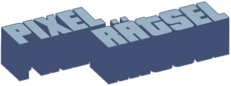 Pixel-Rätsel - Cube
